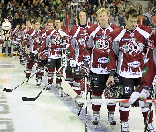 Dinamo hokejisti
